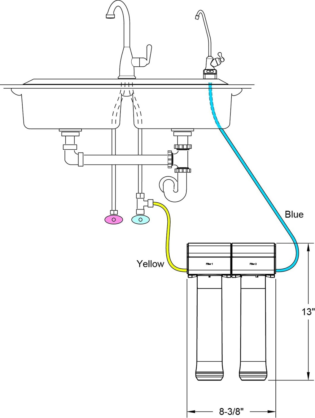 acheter filtre a eau robinet potable