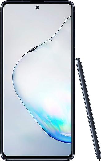 Samsung Galaxy Note10 Lite (Aura Black, 8GB RAM, 128GB Storage)with No Cost EMI/Additional Exchange Offers
