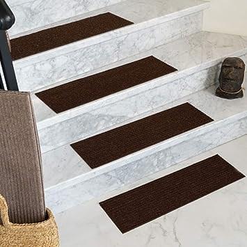 Amazon Com Natural Area Rugs Chocolate Halton Diy Pet Friendly | Carpet For Stairs Amazon | Indoor Stair | Anti Slip | Stair Runner Rugs | Self Adhesive | Beige