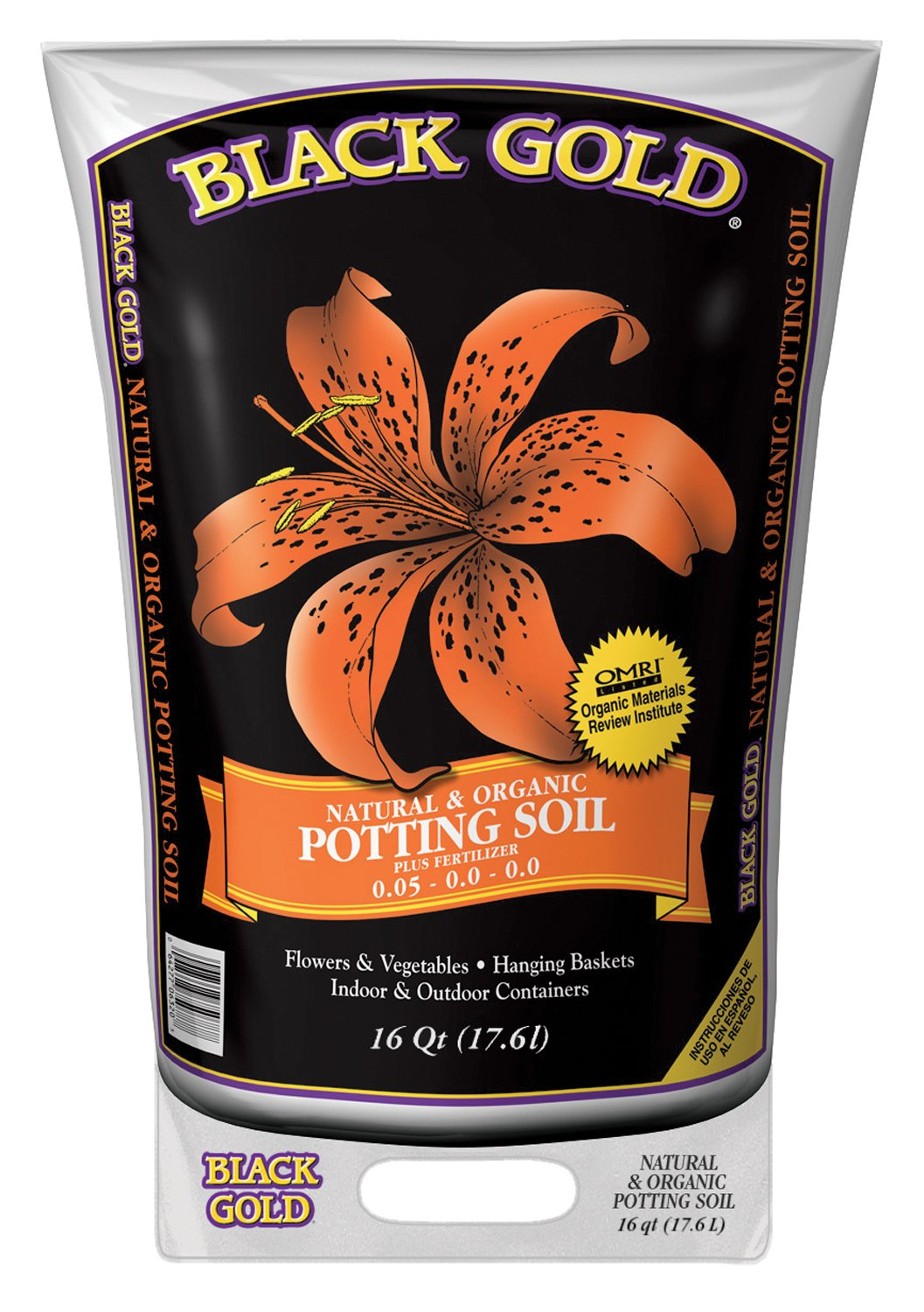 Black Gold Organic Potting Soil