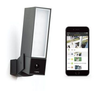 Presence Netamo : lampadaire, détecteur de mouvement et caméra de surveillance
