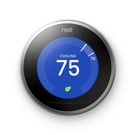 Nest Learning Thermostat cool gadgets for men