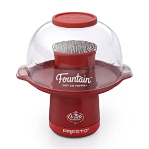 Presto Orville Redenbacher's Fountain Hot Air Popper