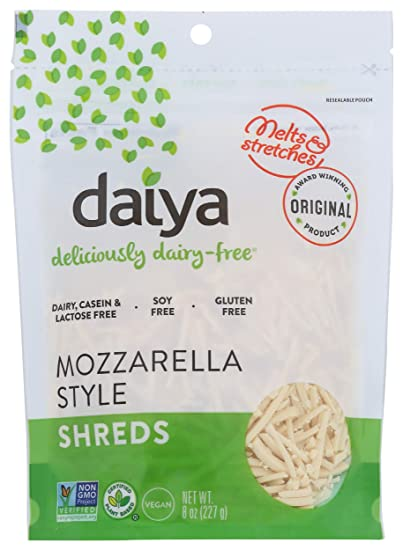 Daiya Dairy Free Cheese Shreds, Mozzarella, 8 oz