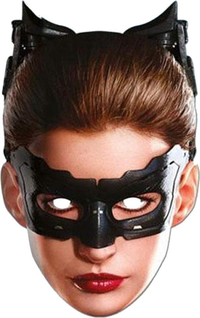 Batman El Caballero Oscuro - Máscara de Catwoman (Talla Única/Multicolor)