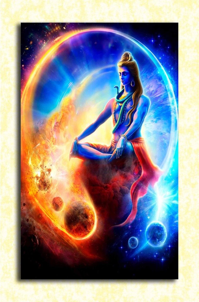 Tamatina God Wall Poster Lord Shiva Hd Quality Poster Amazon In Home Kitchen