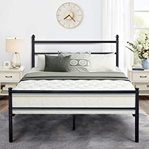 VECELO Reinforced Metal Bed Frame