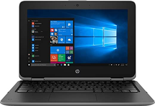 HP ProBook X360 11 G3 11.6 Inch 2-in-1 HD LED Touch Laptop (Celeron N4100 Quad core 2.40Ghz, 4GB Ram 128GB Solid State Drive) Windows 10 Pro
