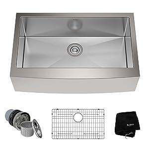 10 Best Stainless Steel Kitchen Sinks Reviews 2018 - AllFaucetsWorld