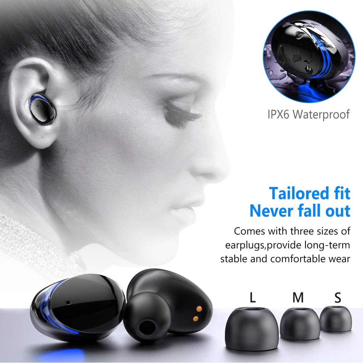 Holyhigh best wireless earbuds