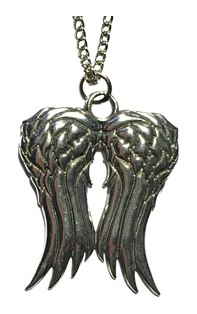The Walking Dead Daryl Dixon Angel Wings Necklace- Costume Accessory