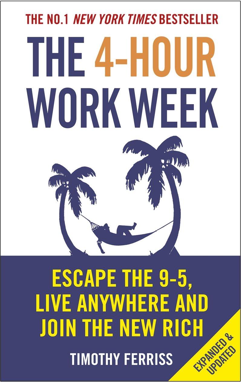 Livro The 4-hour Work Week mostra como é possível trabalhar menos horas e obter melhor rendimento passivo com o seu próprio negócio