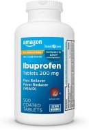Amazon.com: Basic Care Ibuprofen Tablets 200 mg, Pain Reliever ...
