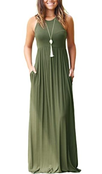 GRECERELLE Loose Maxi Dress