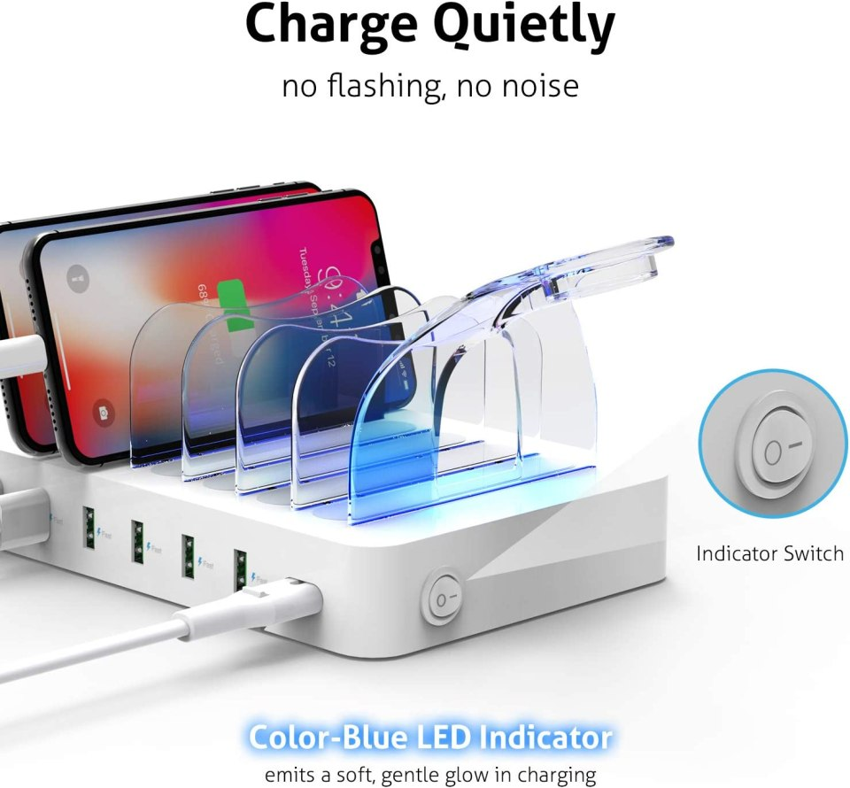 Get A Charging Station For Multiple Devices For Guests - Proven Home Accessories For 5 Star Reviews