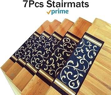 Amazon Com Stair Treads Carpet Non Slip – Stair Runners For | Carpet Stair Runners Near Me | Stair Treads | Wood | Flooring