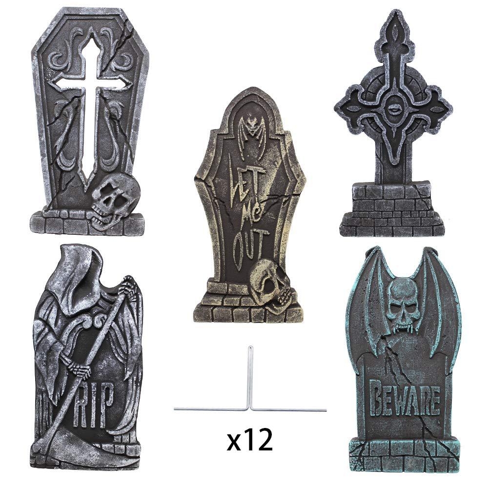 piedras de tumba Halloween