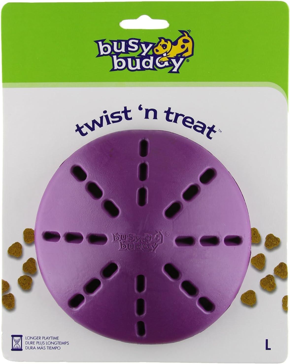 Juguete dispensador Busy Buddy Twist 'n Treat.