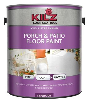 KILZ Enamel Porch & Patio Latex Floor Paint