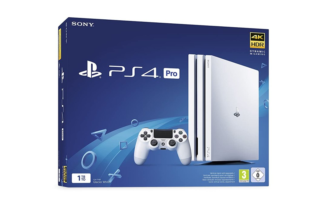 PS4 Pro 1 To G - Chassis White