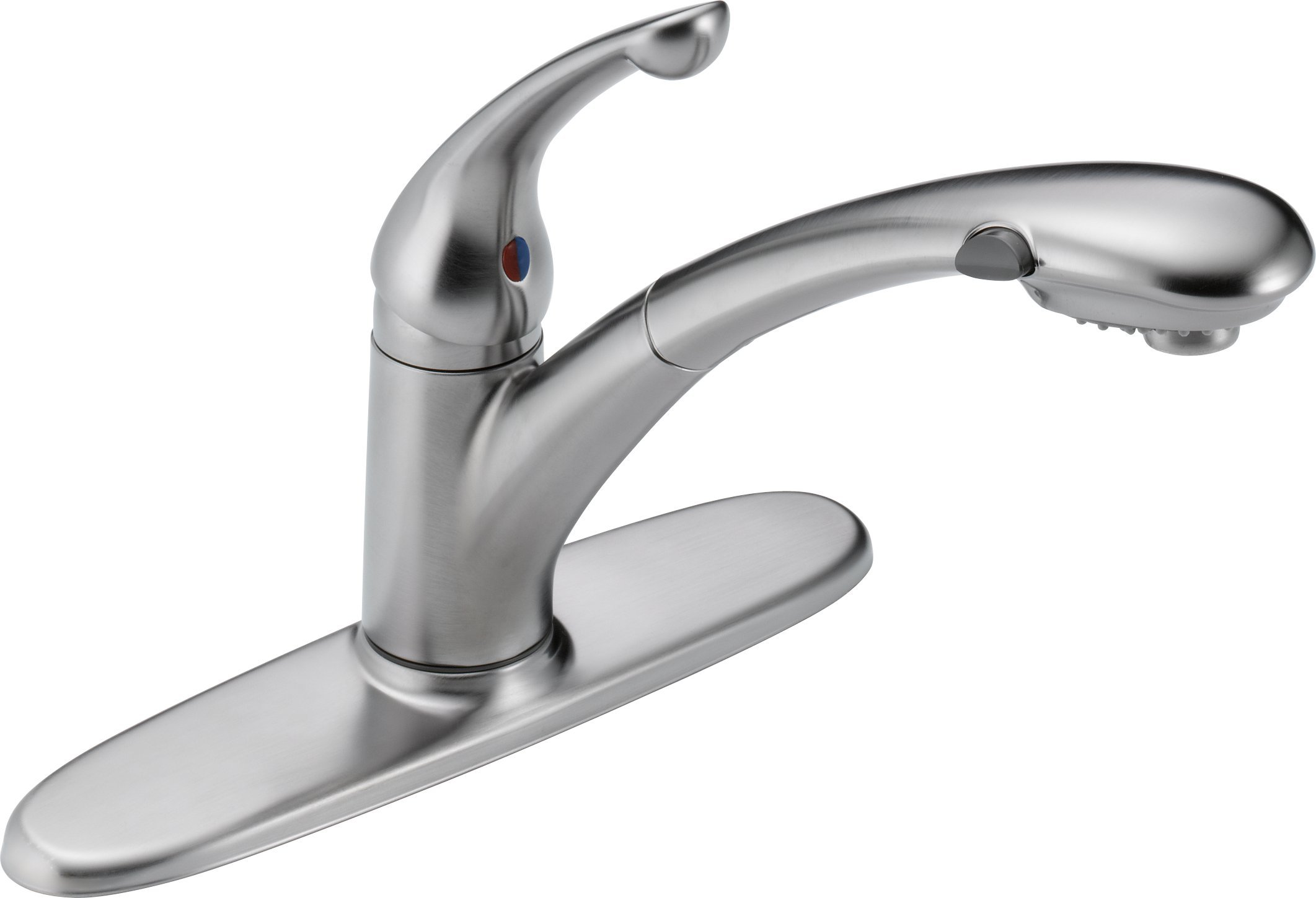 Fantastic Delta Faucet Signature Single Handle Kitchen Sink Faucet With Pull Out Sprayer Download Free Architecture Designs Rallybritishbridgeorg