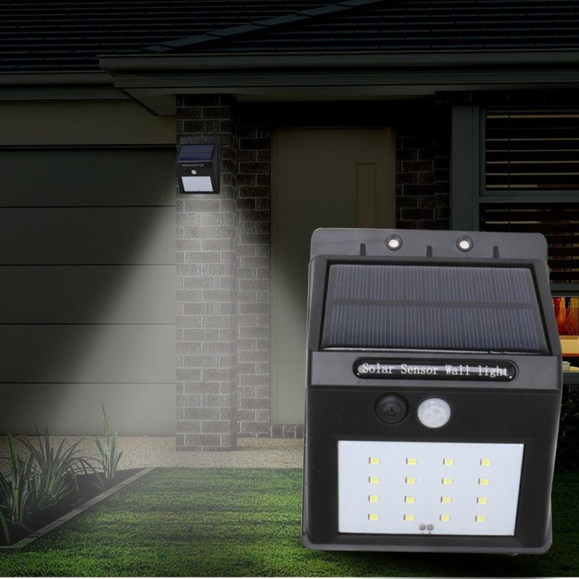 détecteur de mouvement lumière extérieure