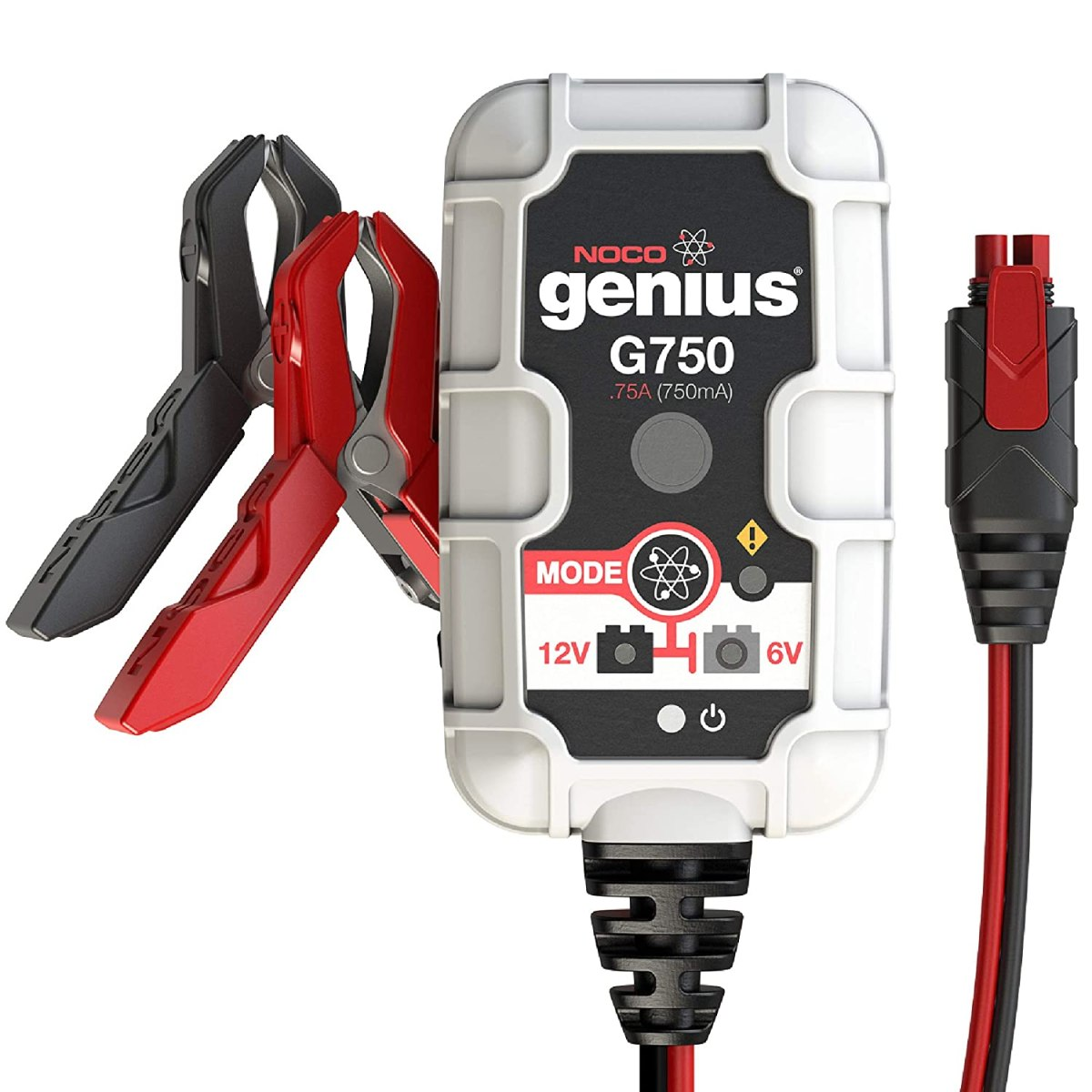 best ATV battery chargers NOCO Genius G750 6V/12V .75 Amp Battery Charger and Maintainer