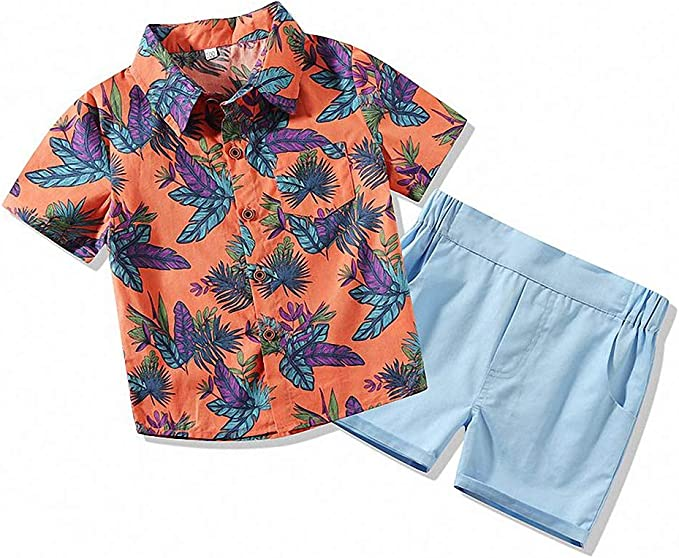 Hawaiian Luau Boy Outfit