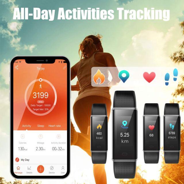 Muzil fitness tracker 2019