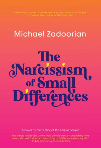 Amazon.com: The Narcissism of Small Differences (9781617758171): Zadoorian,  Michael: Books