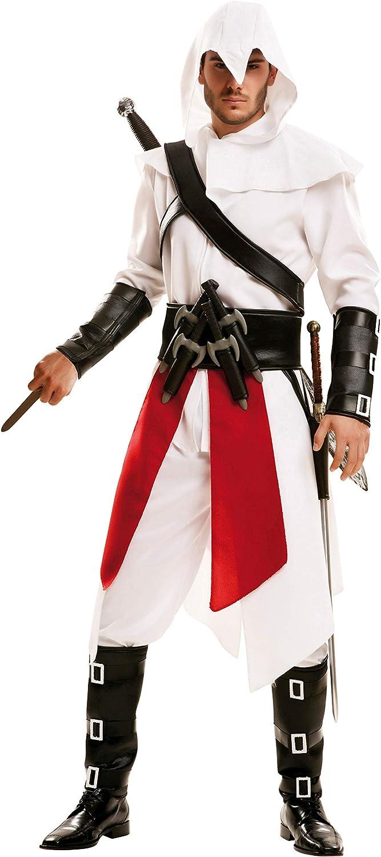 My Other Me 202611- Disfraz de asesino para hombre, color blanco, talla S