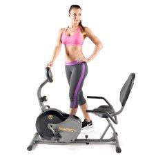 recumbent magnetic exercise bike