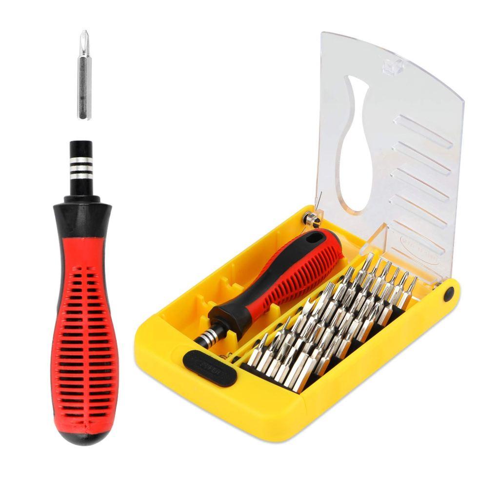 Eocean 37 in 1 Laptop Professional Precision Screwdriver Set Multi-function Repair Tool Kit for Repairing iPhone/iPad/Android/Compute