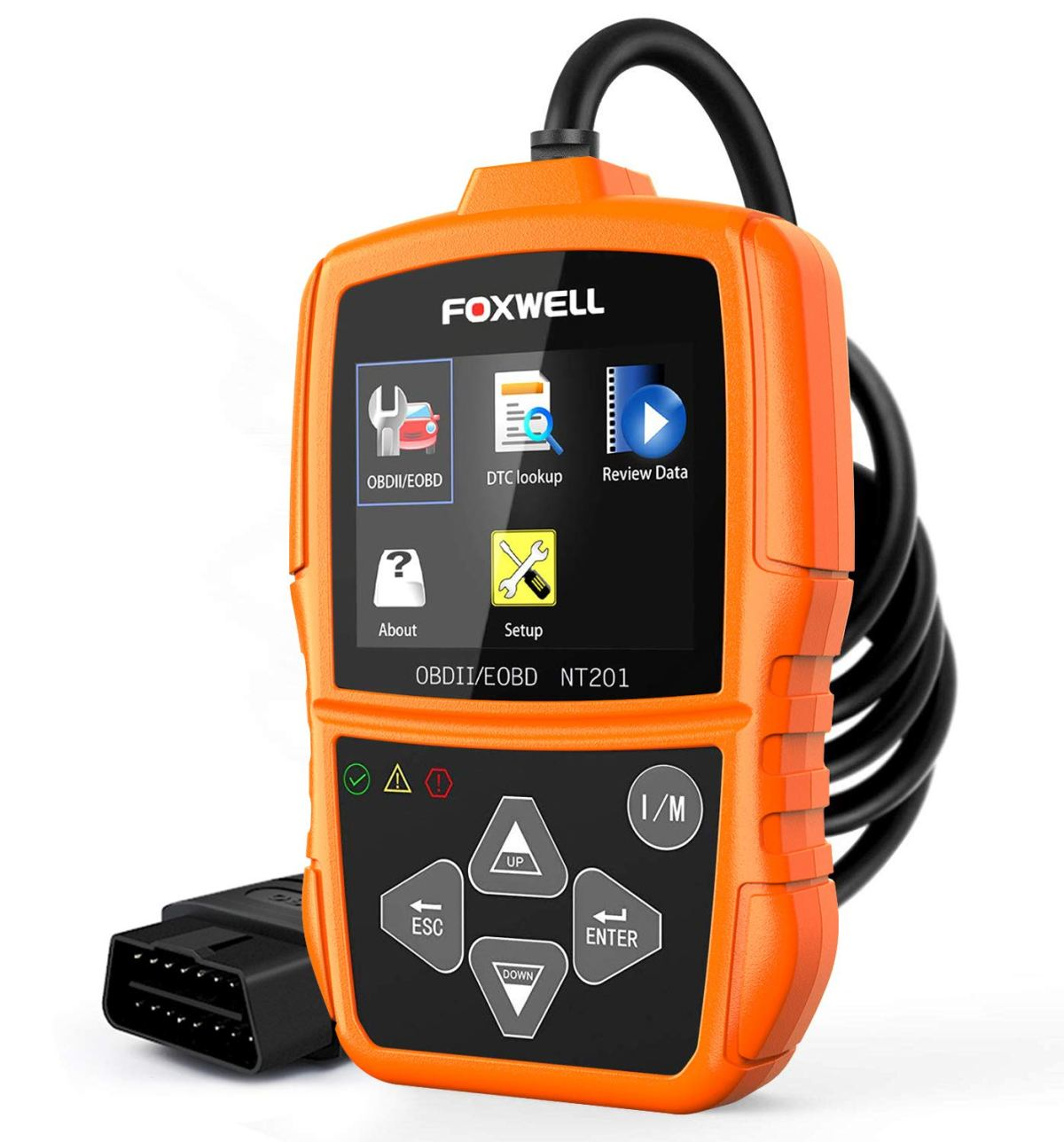 Best Car Diagnostic Scanners FOXWELL NT201 Auto OBD2 Car Scanner
