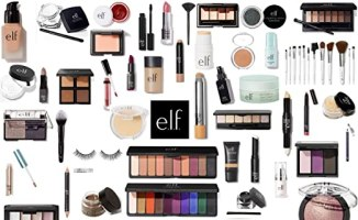 e.l.f. Makeup Assorted 10 Piece Lot Choose Your SKIN TONE Mixed ELF Cosmetics Kit with No Duplicates (Light/Medium)
