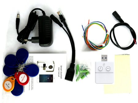 Composants du portier vidéo Konx KW02C