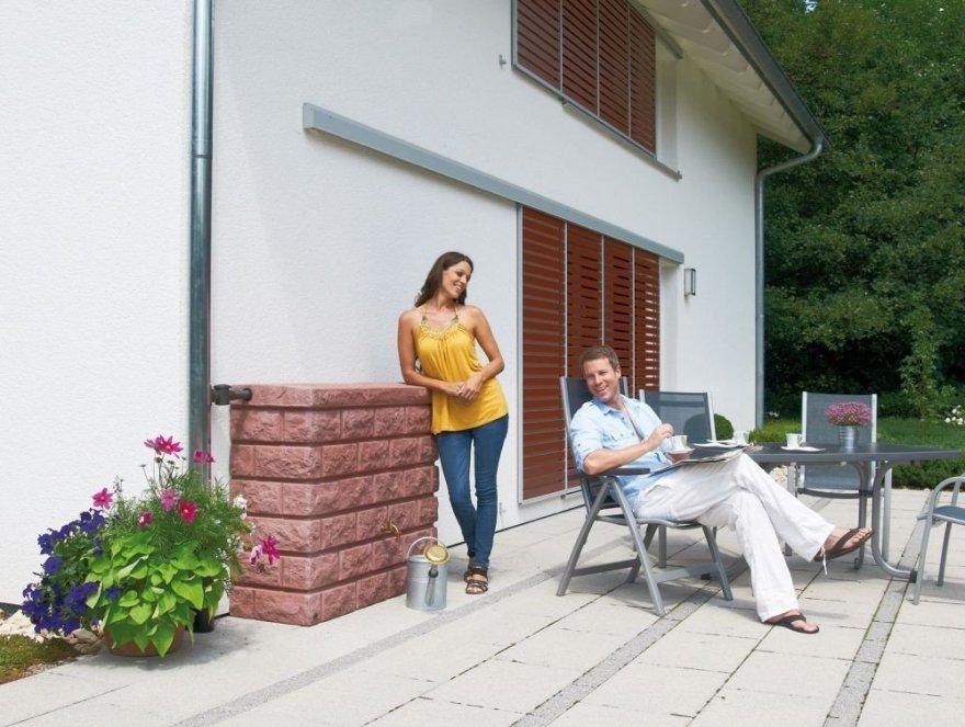 Garantia Rocky Wandtank 400 ltr. Redstone inkl. Auslaufhahn von Otto Graf GmbH