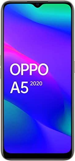 OPPO A5 2020 (Dazzling White, 4GB RAM, 64GB Storage) with No Cost EMI/Additional Exchange Offers