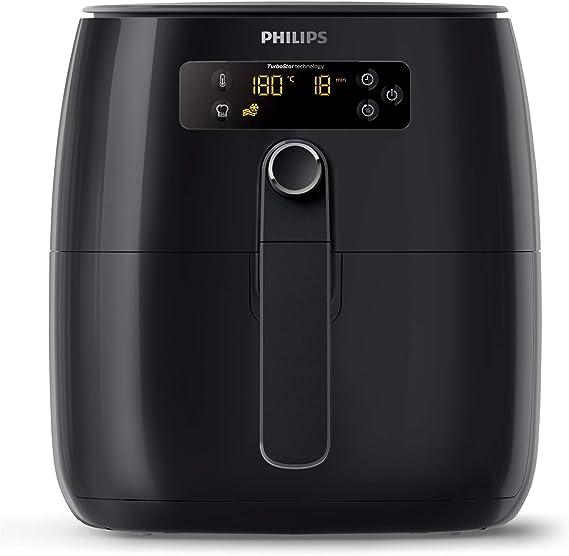 Philips Airfryer, Avance Turbo Star, Digital, Black, HD9641/96