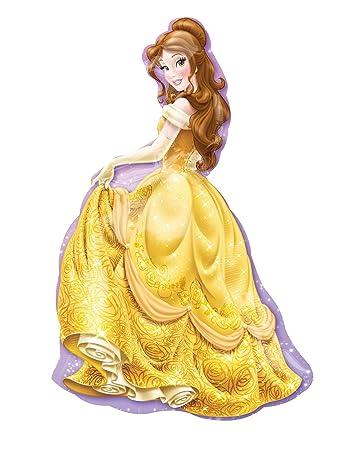 Amazon Com Disney Princess Belle 39 Inch Mylar Foil Balloon Supershape Xl 1 Piece Home Kitchen