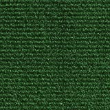 House, Home and More Indoor/Outdoor Carpet with Rubber Marine Backing - Green 6' x 10' - Carpet Flooring for Patio, Porch, Deck, Boat, Basement or Garage