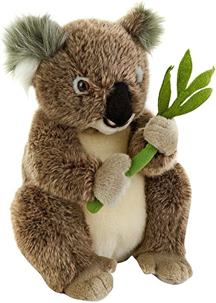 Amazon Com Fao Schwarz 13 Inch Plush Koala Bear Gray Toys Games