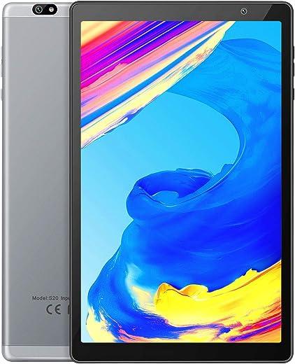 Vankyo Tablette Tactile 10 Pouces, CPU de 8 Cœurs, 64Go+128Go Stockage, 3Go RAM, 8MP+5MP Caméra, Bluetooth 5.0, 5G WiFi, Android 9.0 Pie, IPS HD Écran, GPS, 6000mhA, USB Type-C