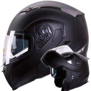 Motorcycle / Snowmobile Dual Visor Modular Helmet