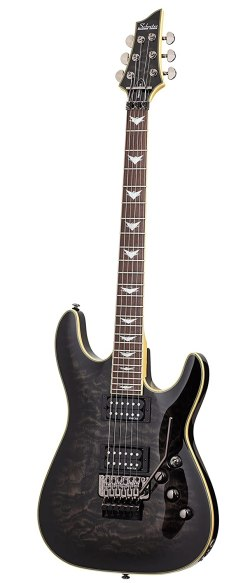 Schecter Guitar Research Omen Extreme FR - Best Vintage Metal Guitar
