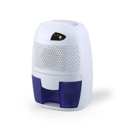 FociPow Compact Portable Electric Mini Dehumidifier for Living Room Bathroom Kitchen Garage