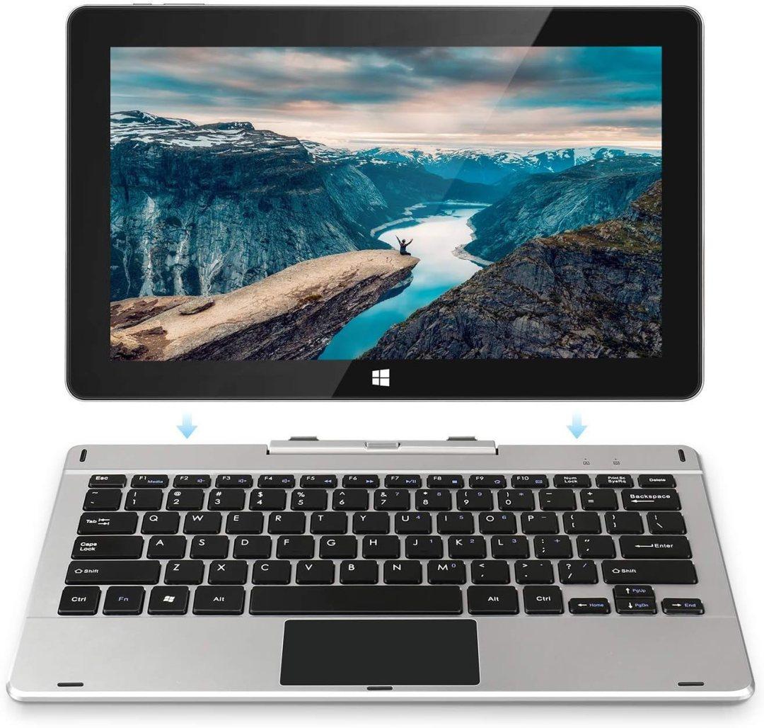 Jumper EZpad 6 Pro Écran Tactile pour Ordinateur Portable 2 en 1 11,6 Pouces Full HD Windows 10 Tablet PC, Processeur Intel Atom E3950 Quad Core 6 Go de RAM 64 Go eMMC Prise en Charge 256 Go Carte TF