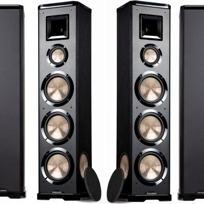 BIC Acoustech PL 980L PL 980R  Floor Speakers