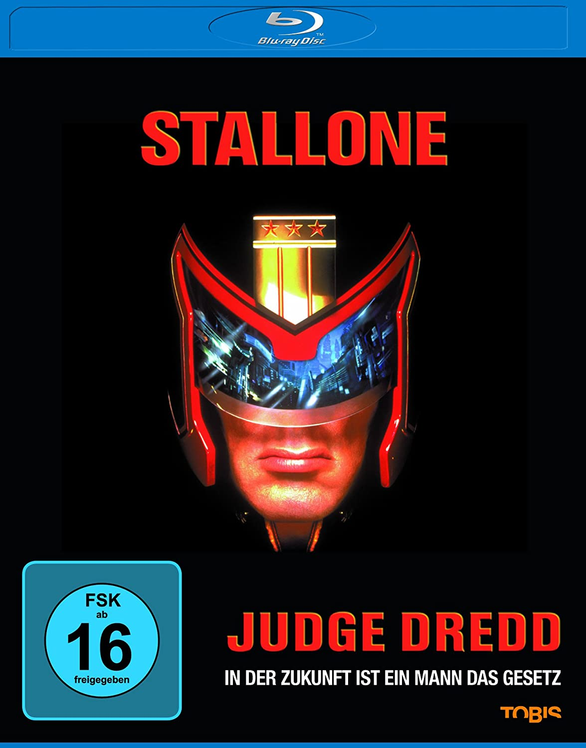 Judge Dredd Bd [Blu-ray] [Import anglais]