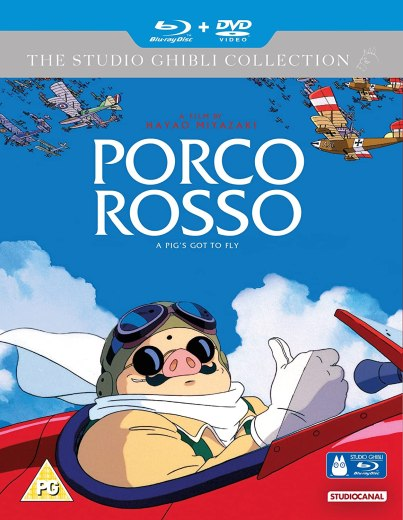 Porco Rosso (Blu-Ray+DVD): Amazon.fr: Cary Elwes, Michael Keaton ...